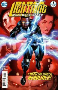 Black Lightning Cold Dead Hands #1 (DC, 2017) VF/NM