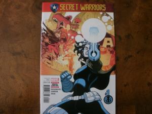 MARVEL Comic Book (2017) SECRET WARRIORS #1