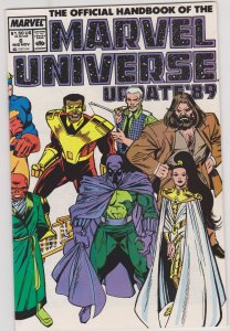 Official Handbook of the Marvel Universe Update '89 #6
