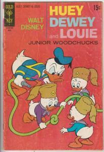 Huey Dewey and Louie Junior Woodchuks #9 (Apr-71) FN- Mid-Grade Huey Dewey Louie