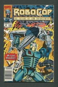 RoboCop #2  /  9.6 NM+ - 9.8 NM-MT  Newsstand  April 1990