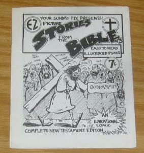 Picture Stories From The Bible #3 VF underground comix - san francisco 1972