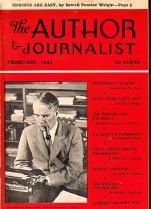 Author & Journalist February 1944- Pulps- William Pratt- Randolph Jewett