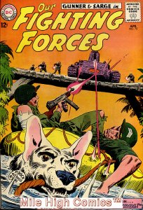 OUR FIGHTING FORCES (1954 Series) #75 Very Good Comics Book
