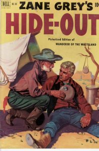 ZANE GREY HIDE-OUT FOUR COLOR #346 EGYPTIAN COLLECTION FN
