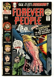 FOREVER PEOPLE #9 KIRBY comic book 1972 1st appearance Hiram Gaunt VF