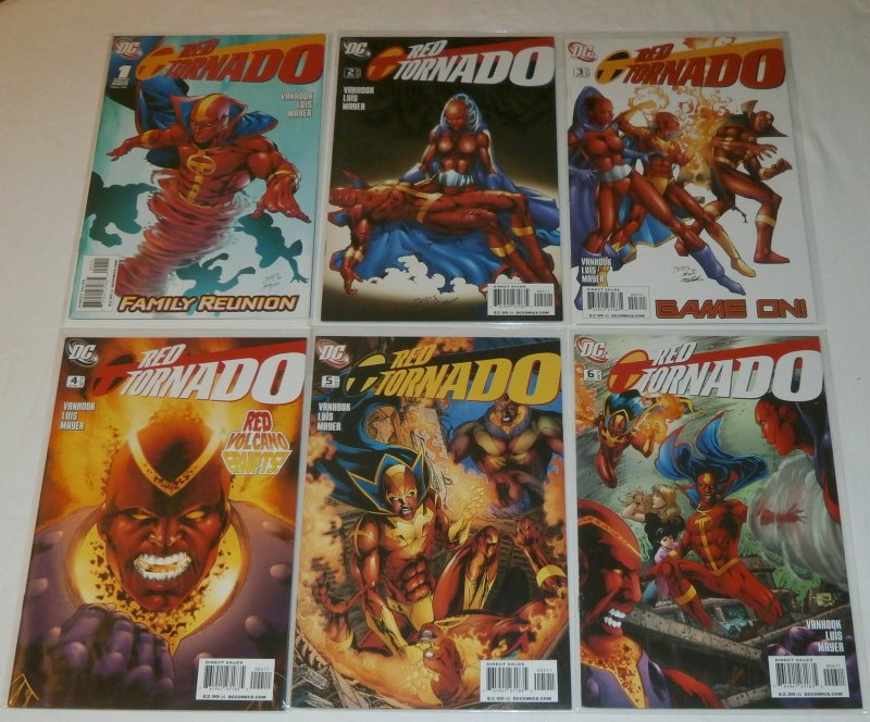 Red Tornado (vol. 2, 2010) #1-6 (complete set) JLA spin-off