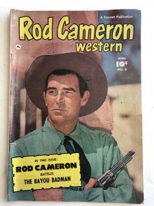 Rod Cameron #8, VG-F, see photos