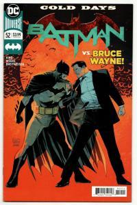 Batman #52 Rebirth Main Cvr (DC, 2018) VF/NM