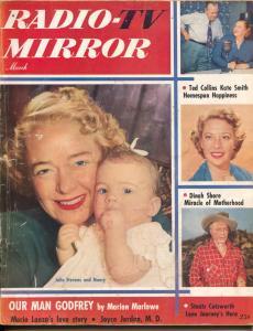 Radio And Television Mirror-Arthur Godfrey-Kate Smith-Dinah Shore-Mar-1952
