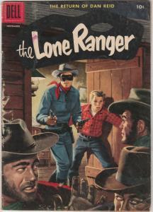 Lone Ranger, The #101 (Nov-56) VG+ Affordable-Grade The Lone Ranger, Tonto, S...
