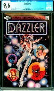 Dazzler #1 CGC Graded 9.6 1st Direct Distribution Comic by Marvel