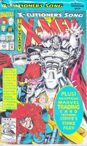 Uncanny X-Men, The #296 (with card) VF/NM; Marvel   save on shipping - details i