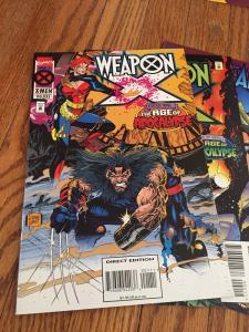HUGE Age Of Apocalypse Set. Weapon X, Astonishing X-men, Gambit & Externals+++