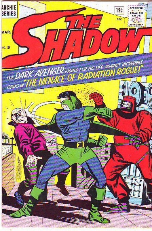 Shadow, The #5 (Mar-65) NM- High-Grade The Shadow Super Hero