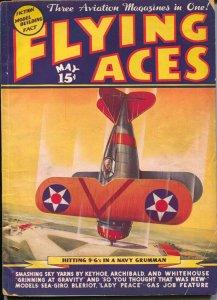 Flying Ace 5/1937-hero pulp-Capt Frank Hawks-Al McWilliams-Dick Knight-FR/G
