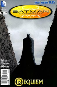 Batman Incorporated (2nd Series) #9 FN; DC   save on shipping - details inside