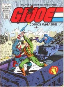 GI JOE DIGEST (COMICS MAGAZINE) 6 VF-NM October 1987 COMICS BOOK