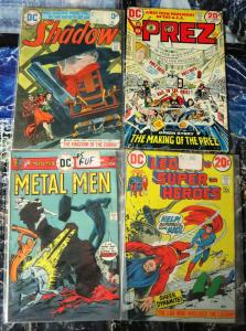 DC BRONZE AGE COLLECTION! 11 books from GOOD to FINE- Kaluta, Kirby, Grell, More
