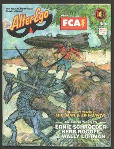 Alter Ego #27 2003-Jeff Gelb collection-History of Hillman & Ziff-Davis-comic...