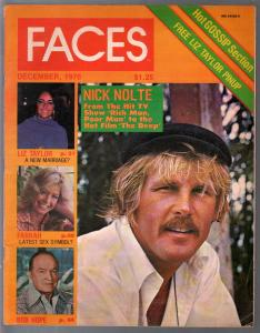 Faces 12/1976-Nick Nolte-Farrah Fawcett-John Denver-Bob Hope-FN