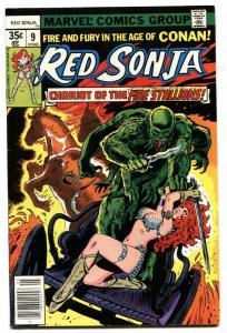 RED SONJA #9-1978-BEAUTIFUL HIGH GRADE MARVEL-vf/nm