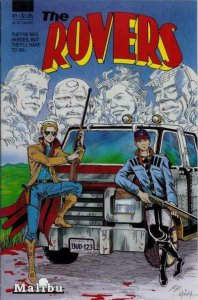 THE ROVERS #1, VF/NM, Malibu, 1987 more Indies in store