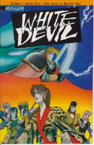 White Devil #4 VF; Eternity   save on shipping - details inside