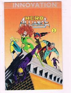 Hero Alliance #2 VF Innovation Comic Book DE13