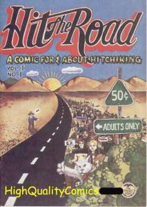 HIT THE ROAD 1, FN to FN+, Underground, Hitchiking, 1971, Gas, Grass, or