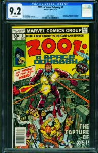 2001: A SPACE ODYSSEY #8 CGC 9.2 1st MACHINE MAN-2021159001