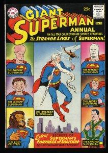 Superman Annual #3 FN 6.0 Massachussetts DC Comics