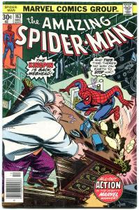AMAZING SPIDER-MAN #163 1976-MARVEL COMICS-KINGPIN