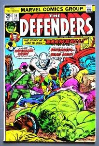 Defenders  (1972 Series)  #19  VF- Actual Photo
