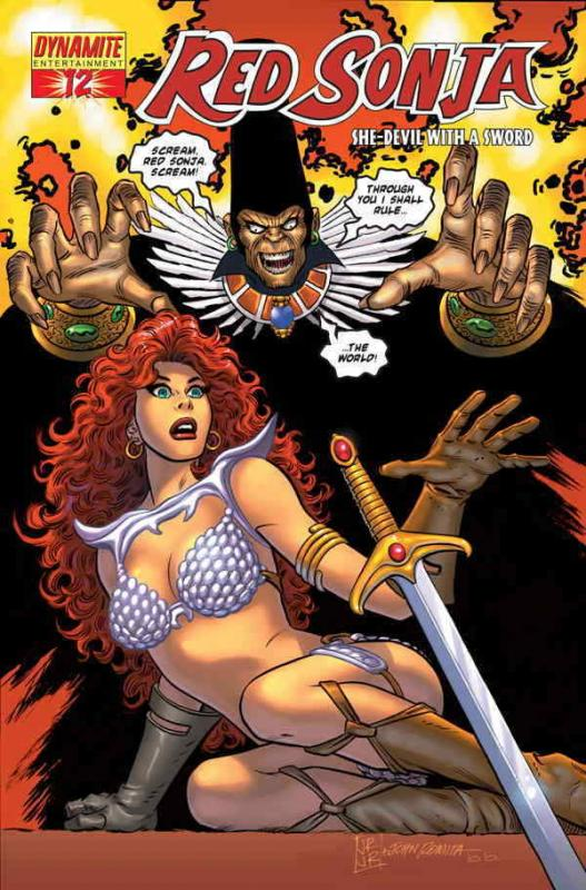 Red Sonja (Dynamite) #12C VF/NM; Dynamite | save on shipping - details inside