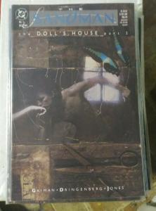 SANDMAN # 11 dec  1989 DC COMICS NEIL GAIMAN+doll house pt 2 high grade