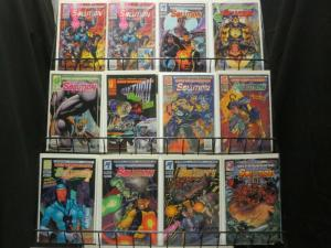 SOLUTION (1993 MA/UL) 0,1A,1B,2-4,5A,5B,6-17 COMPLETE++ COMICS BOOK