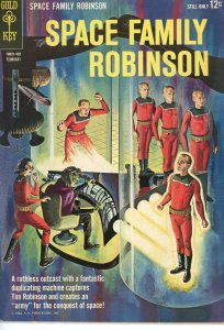Space Family Robinson 16  VG/F  Gold Key  1964