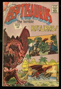 REPTISAURUS THE TERRIBLE #7 1962-CHARLTON COMICS-TERROR VG
