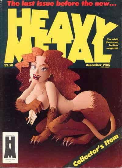 Heavy Metal #106 VF; Metal Mammoth | save on shipping - details inside