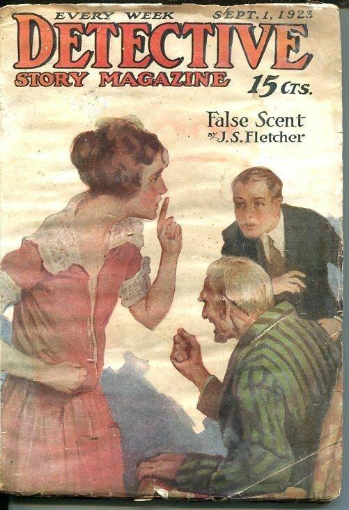 DETECTIVE STORY MAGAZINE-SEPT 1 1923-WELLS-FLETCHER-JOHNSTON MCCULLEY-good G
