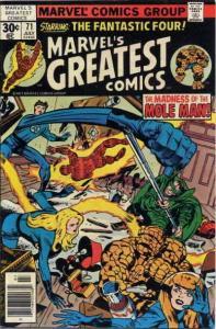Marvel's Greatest Comics #71 FN; Marvel | save on shipping - details inside