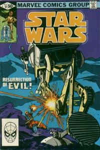 Star Wars (1977 series) #51, Fine+ (Stock photo)