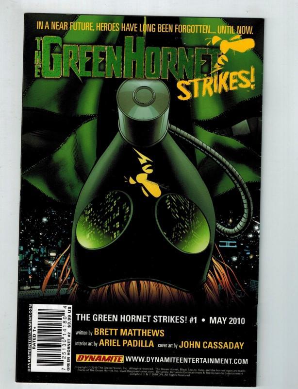 Green Hornet # 2 VF/NM Dynamite Comic Book Kevin Smith Jonathan Lau Series S75