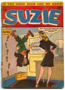 Suzie #53 1946- ARCHIE COMICS- GGA- POOR