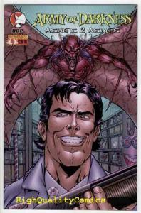 ARMY OF DARKNESS #4, NM+, Ashes 2 Ashes, Boomstick, Zombie, more AOD in store
