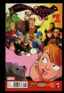 The Unbeatable Squirrel Girl #1 2015- Marvel comics- High Grade Unread NM