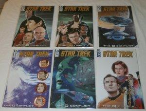 Star Trek  : The Q Conflict #1-6