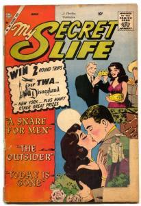 My Secret Life #33 1960-Charlton Romance-A SNARE OF MEN- FR/G