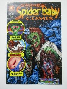 Stephen R. Bissette's Spider Baby Comix #1 (1995) Indie Underground Horror!